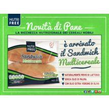 Nutri Free sandwich multicereale 180g