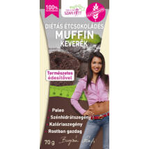 Szafi Fitt Diétás Étcsokoládés Muffin keverék (gluténmentes, paleo) 280g