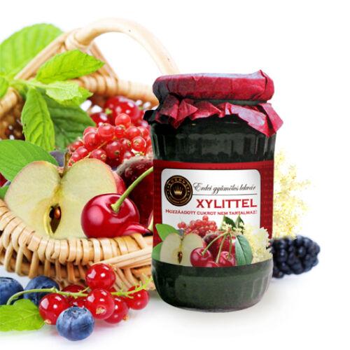 Erdei gyümölcslekvár xylittel 370 g