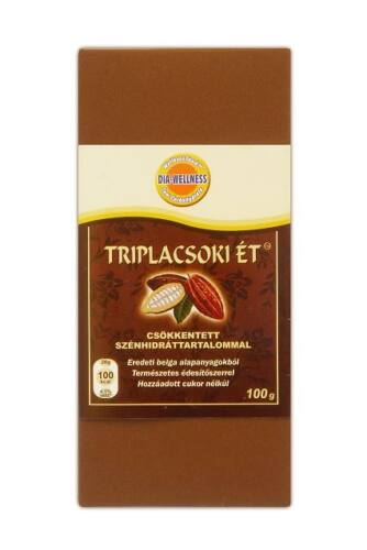 Dia-Wellness triplacsoki ét, 100 g