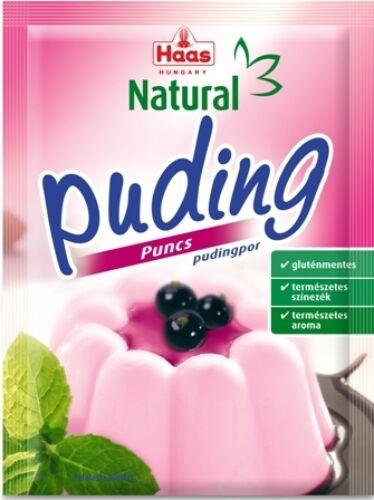 HAAS Natural Gluténmentes PUNCS Pudingpor 40 g