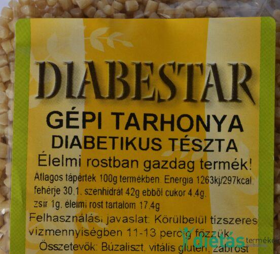 DIABESTAR TARHONYA tészta 200g