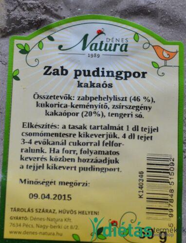 Dénes-Natura Zab pudingpor kakaós 50 g