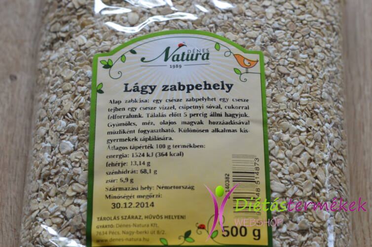 Dénes-Natura Lágy zabpehely 500 g