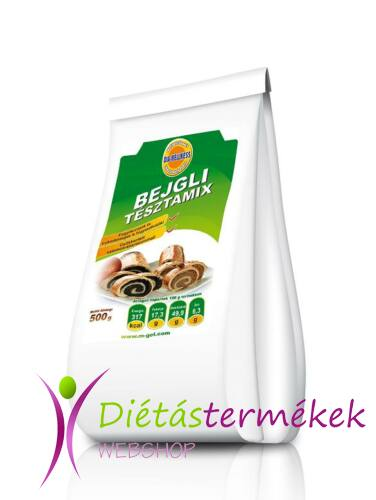 Dia-Wellness Beigli Mix 500 g
