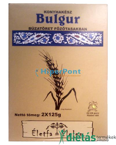 Életfa bulgur búzatöret 2x125 g