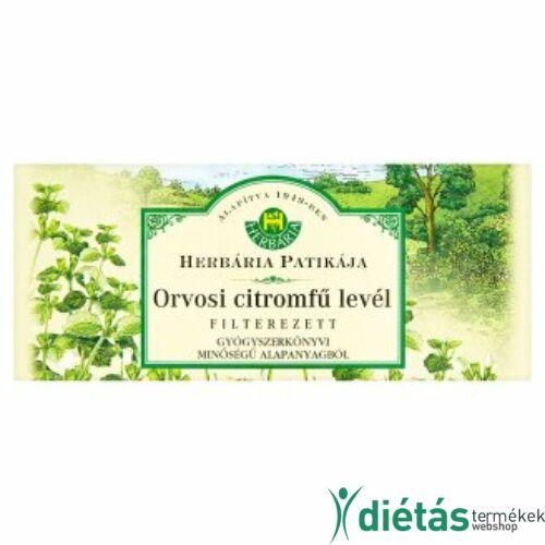 Herbária citromfű tea filteres 25 db