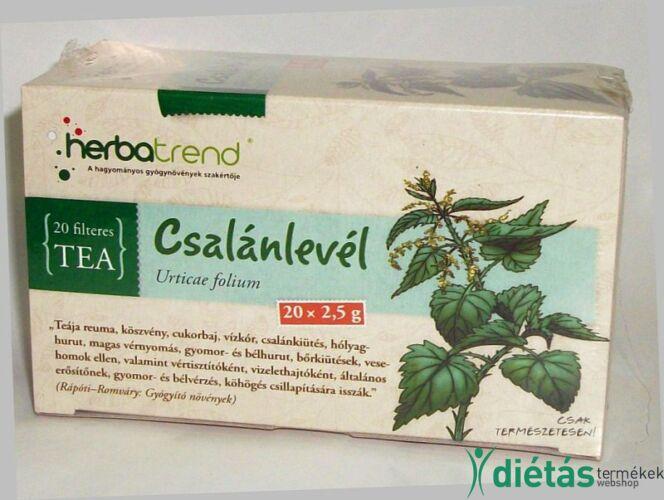 Herbatrend csalánlevél filteres tea 20 db