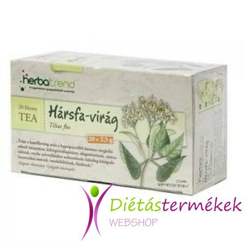 Herbatrend hársfavirág filteres tea 20 db