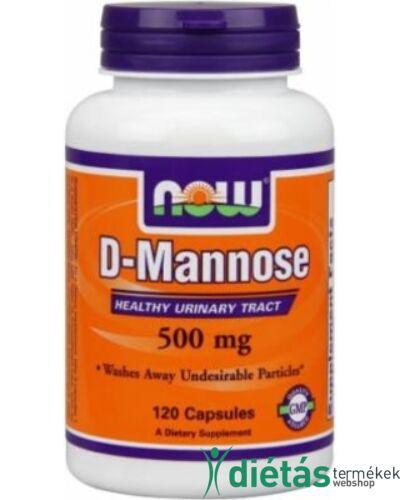 Now D-mannose kapszula (felfázás ellen) 120db