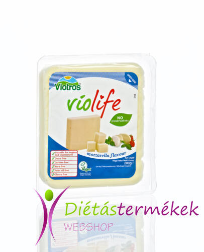 Violife gluténmentes, vegán mozzarella sajt 200g