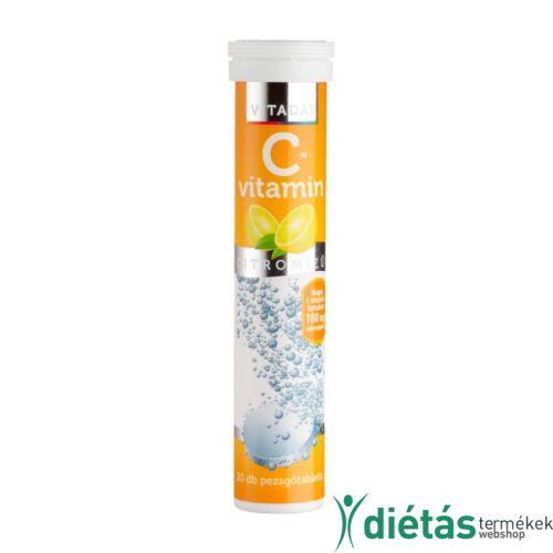 Vitaday pezsgőtabletta C- vitamin 20 db