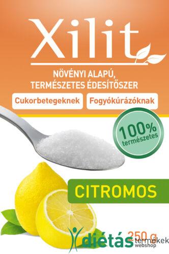 FM Citromos ízű xilit 250g