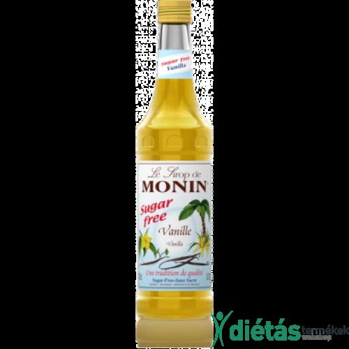 Monin Cukormentes vanília szirup 0,7 l