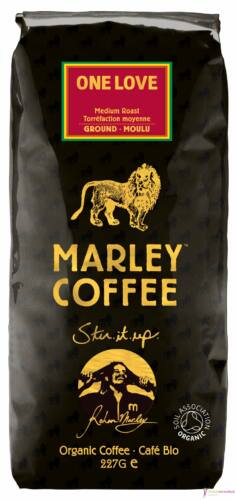 Marley Coffee One Love Medium őrölt kávé 227g
