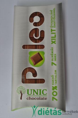 Paleo étcsokoládé xilittel Unic 80 g