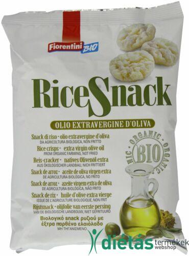 Fiorentini Extra szűz olívaolajjal (3%) ízesített rizses snack falatkák (gluténmentes) 40g