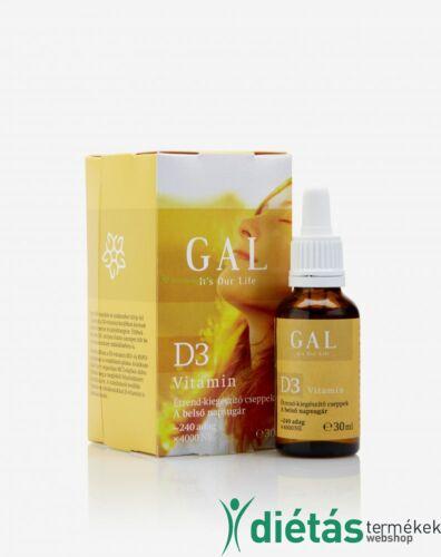 GAL D3 vitamin 30ml