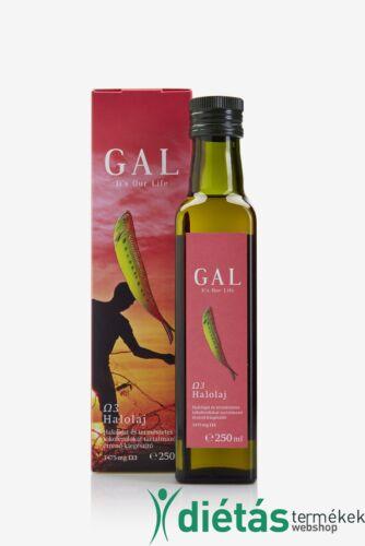 GAl Ω3 Halolaj étrend-kiegészítő 250 ml