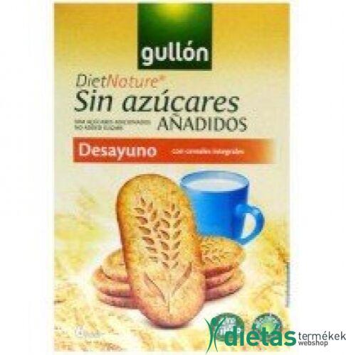 Gullon Többgabonás reggeli keksz (hozzáadott cukormentes) 216 g