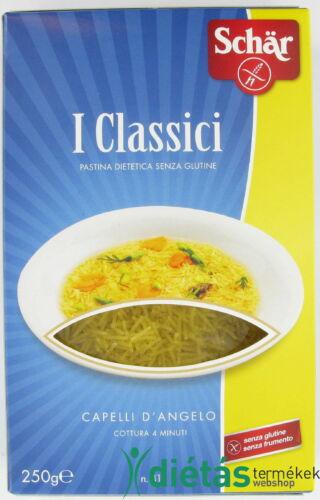 Schär Capelli de Angelo gluténmentes, tojásmentes tészta 250 g