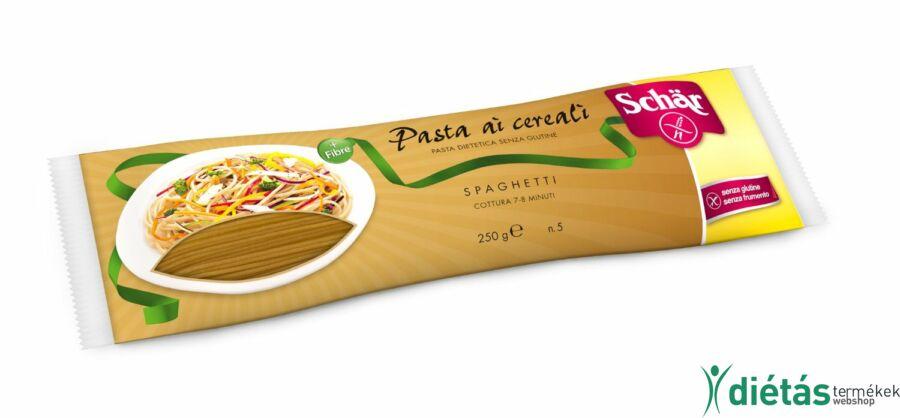 Schär többgabonás gluténmentes spagetti tészta (tojásmentes) 250 g