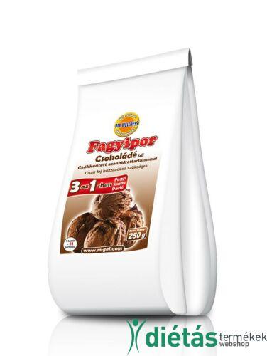 Dia-Wellness Csokoládé ízű fagyipor 250g