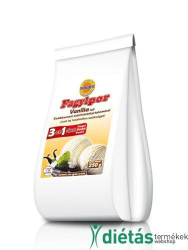 Dia-Wellness Vanília ízű fagyipor 250g