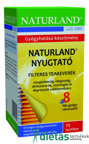 Naturland nyugtató tea 25 filteres