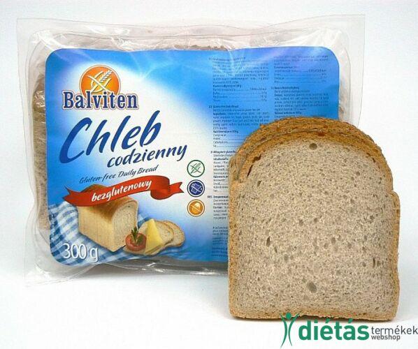 Balviten napi kenyér (gluténmentes, tejmentes, tojásmentes) 300 g