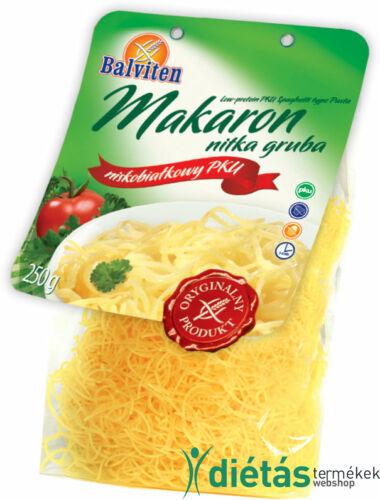 Balviten PKU vastag cérnametélt (gluténmentes, tejmentes, tojásmentes) 250 g