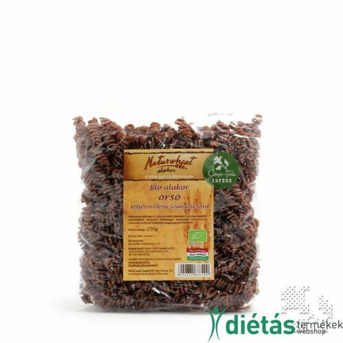 Naturwheat Bio alakor tészta orsó (tojásmentes, vegán) 250 g