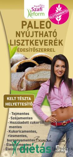 Szafi Reform Nyújtható Édes kelt tészta helyettesítő liszt (paleo és vegán) gluténmentes 5kg