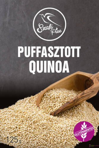 Szafi Free gluténmentes Puffasztott Quinoa 125g