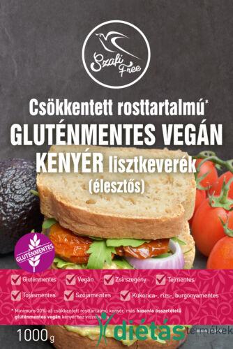 Szafi Free csökkentett rosttartalmú gluténmentes vegán kenyér lisztkeverék (élesztős) 1000 g