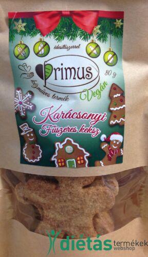 Primus karácsonyi fűszeres keksz 80 g