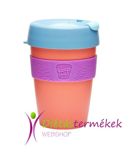 KeepCup To Go Pohár & Shaker APRICOT 340 ml