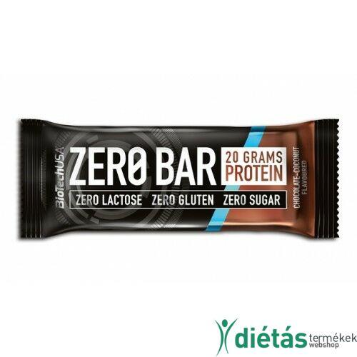 BIOTECH Zero Bar csokoládé-kókusz 50 g