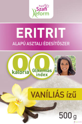 Szafi Reform Vaníliás ízű eritrit (eritritol) 500g