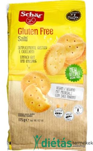 Schär Salti - gluténmentes, laktózmentes sós kréker 175 g