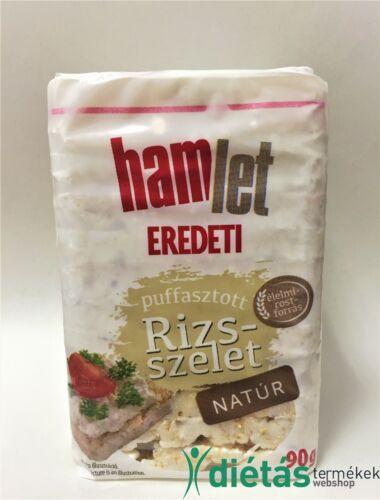 Hamlet puffasztott rizs natúr 100g