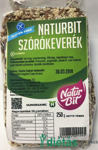 Naturbit Sokmagvas Szórókeverék 250 g