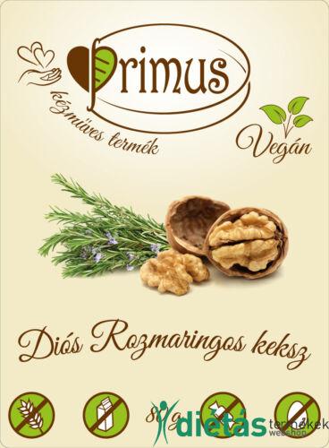 Primus paleo sós keksz diós-rozmaringos 80 g