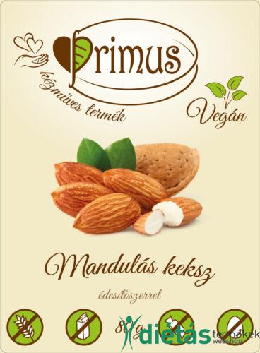 Primus paleo keksz mandulás 80 g