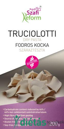 Szafi Reform Fodros kocka - truciolotti száraztészta (gluténmentes) 200g