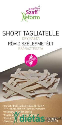 Szafi Reform Rövid szélesmetélt - short tagliatelle száraztészta (gluténmentes) 200g