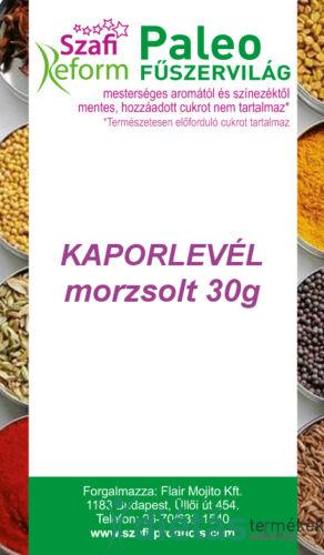 Szafi Reform Paleo Kaporlevél, morzsolt 30 g