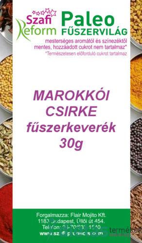 Szafi Reform Paleo Marokkói csirke fűszerkeverék 30g