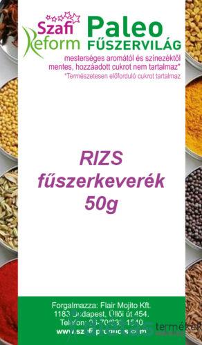 Szafi Reform Paleo Rizs fűszerkeverék 50g