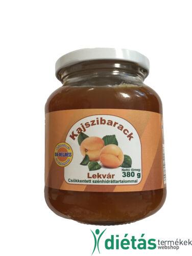 Dia-Wellness Kajszi Lekvár 0,38 kg